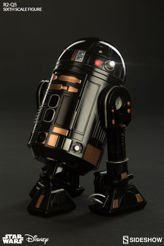 General News Sideshow Star Wars: R2-Q5 Sixth Scale Figure - OSW: One Sixth Warrior Forum