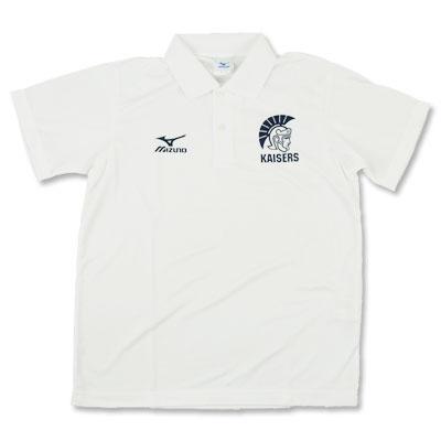 関西大学 KAISERS 半袖ポロシャツ(ホワイト) ¥3,780