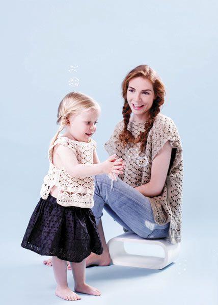 SOMMER-FIN TOPP | free pattern | crocheted topp | crochet pattern