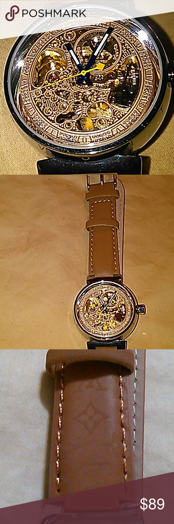 See through Watch This is a brand new watch, price reflects authenticity. Please view ALL photos. Accessories Watches
