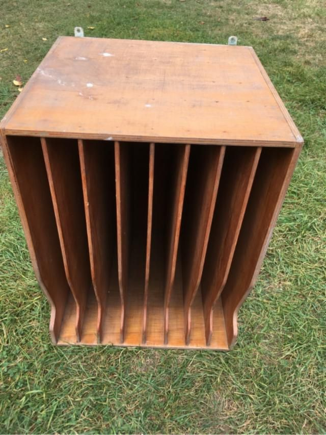 Mueble para discos vinilo archivadores servir y cambio - Vinilos para forrar muebles de madera ...