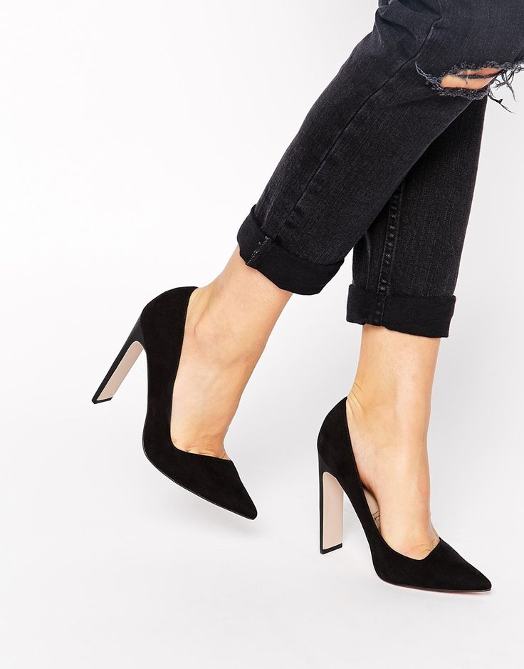 Imagen 1 de Zapatos de tacón alto en punta PREFECTS de ASOS