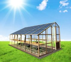 wood solar panel greenhouse - Google Search #solar #aurinkopaneeli #aurinkoenergia for further info in Finland: www.cioy.fi