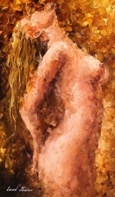 """The Pleasure Of Lust — PALETTE KNIFE Oil Painting On Canvas By Leonid Afremov - Size: 20"""" x 30"""" (50"""