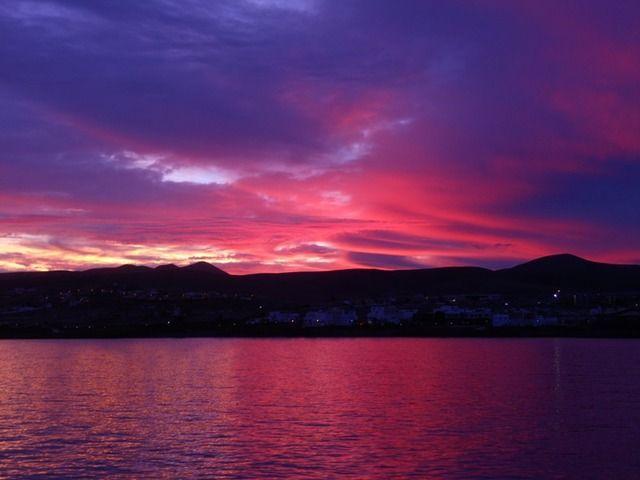 Einen stimmungsvollen #Sonnenuntergang hielt lisa_92 in ihrem #AIDA #Reisebericht fest