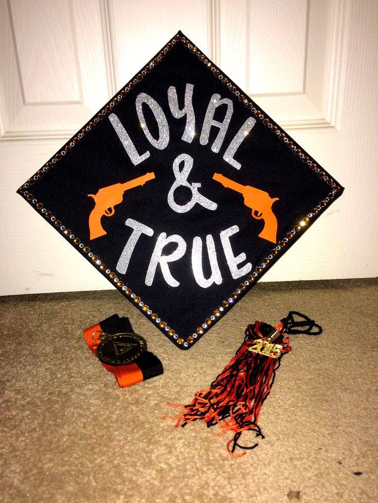 Oklahoma State University Graduation Cap Fall 2015