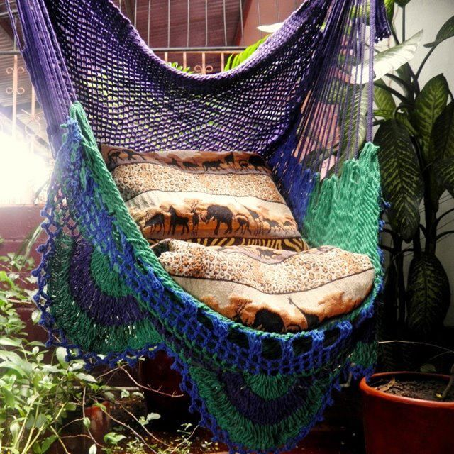 We could use the fabric for a swing bed setting