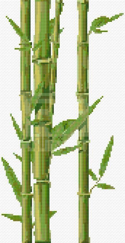 Cross Stitch   Bamboo xstitch Chart   Design