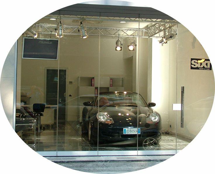 Your Porsche front door.