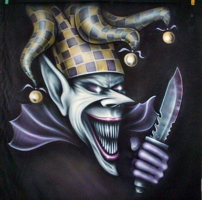 Evil Joker Art