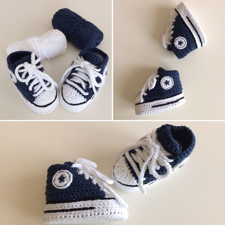 86 best Crochet baby shoes images on Pinterest | Crocheted slippers ...