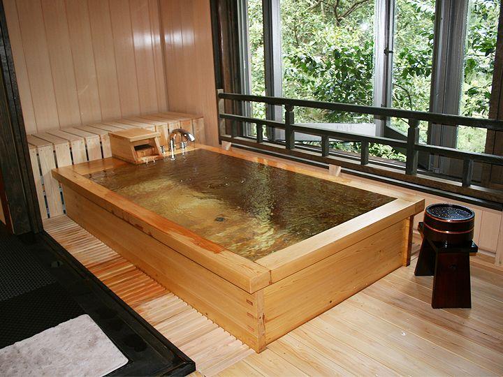 relax nel legno dell'Okkaido