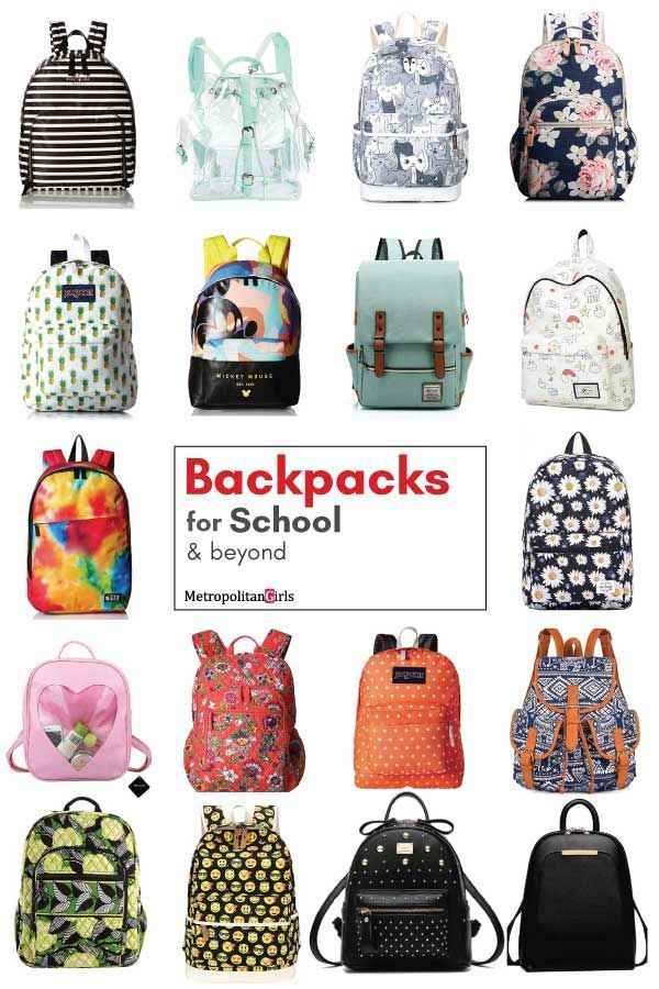21 Cute School Backpacks Make School Fun Again 2019 Backpack