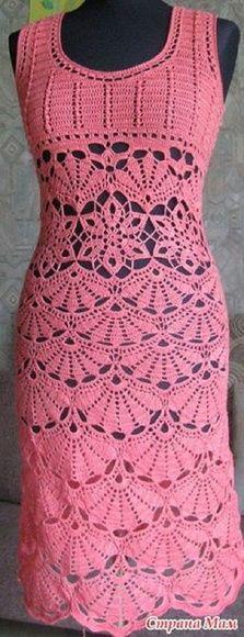 vestido em crochê Valentina