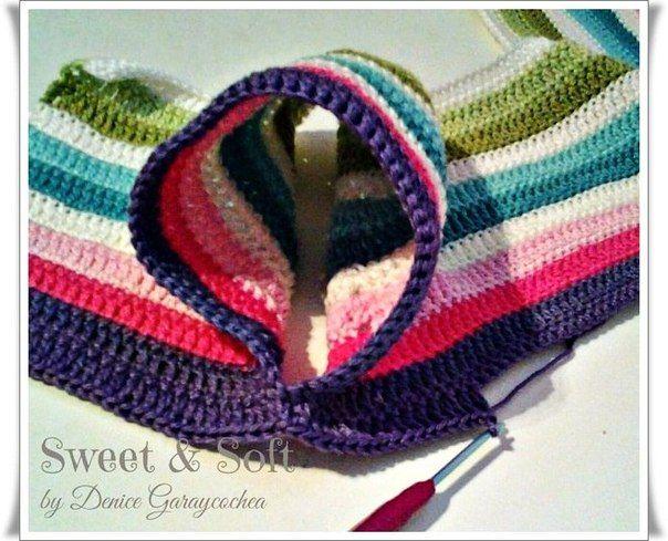 Delicadezas en crochet Gabriela: Blusa brillante con los corazones para las niñas -Para ver pasos dar clic-Dicho aporte es de la Web