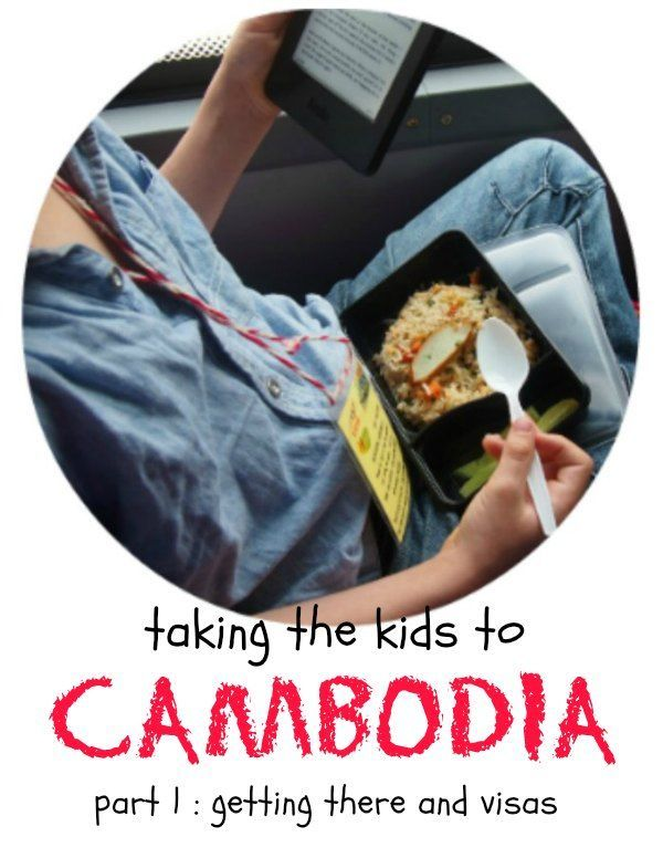 Taking kids to Cambodia. How we got there overland from Thailand and arrival in Siem Reap. Watch out for the kids' visa border scam! Family travel blog Cambodia.