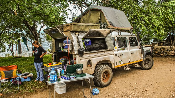Traveling the World—and Raising Two Kids—in a 2003 Land Rover Defender