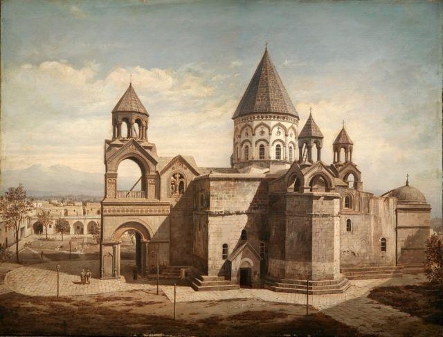 Gran exposición sobre el genocidio armenio y el papel de la Iglesia Armenia - Soy Armenio