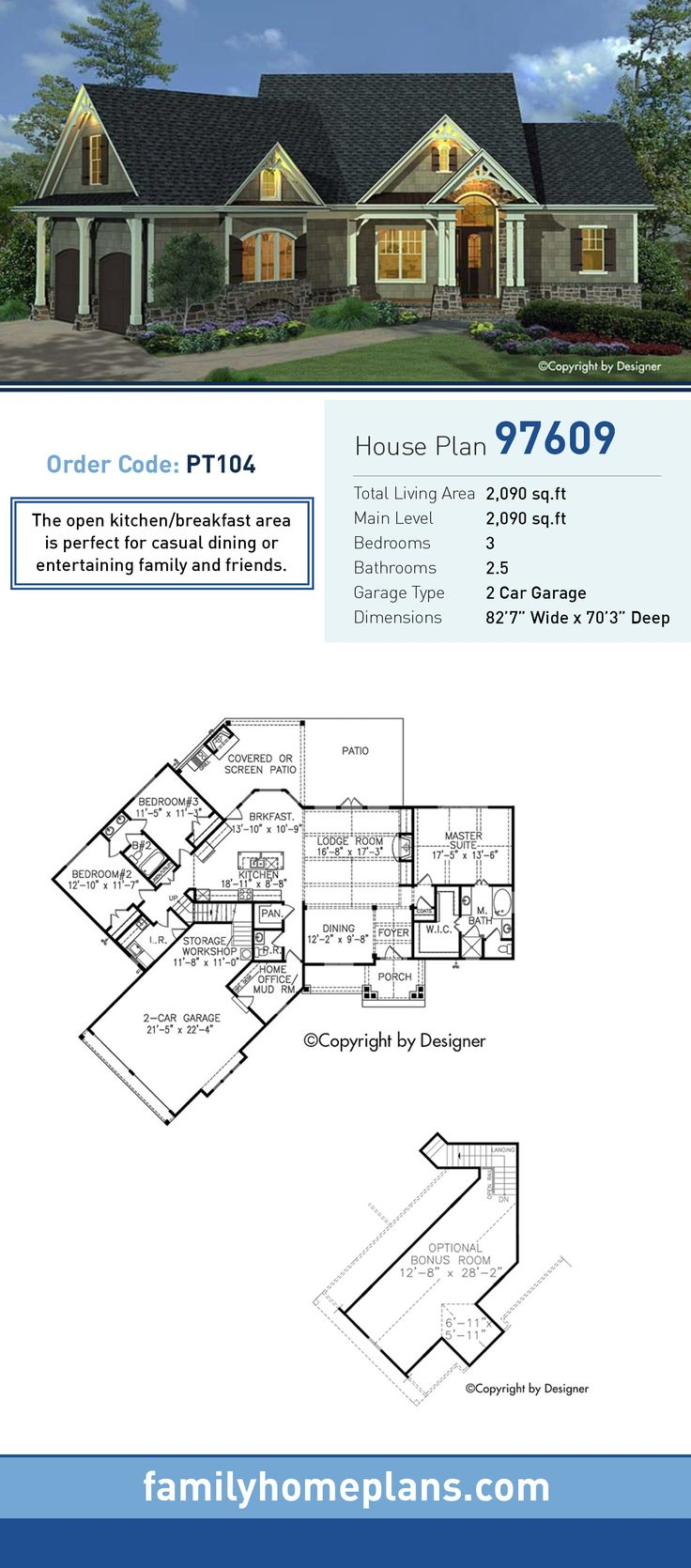 255 Best Images About Houseplans On Pinterest Craftsman