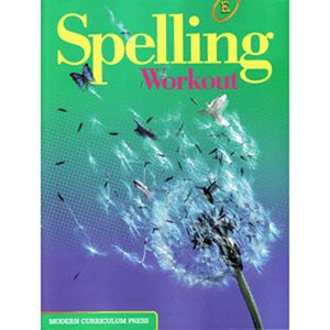 MCP Spelling Workout 2002 Student Level E