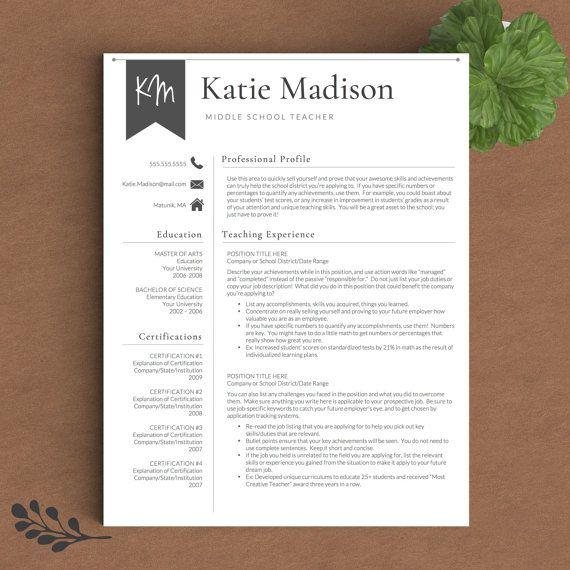 Best 25+ Teaching resume ideas on Pinterest Teacher resumes - teachers resume example