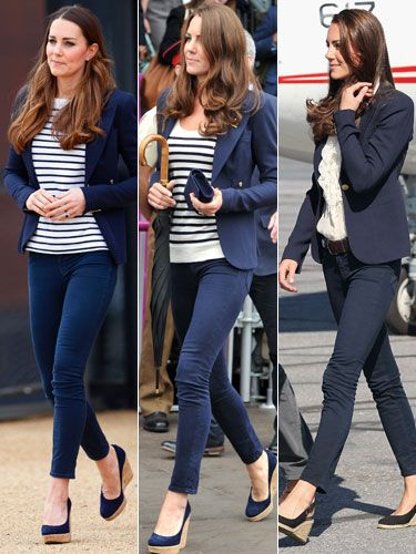 Kate has shown the world tat if an outfit works, repeat it!!!