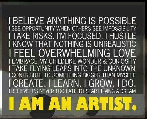 I am am ARTIST