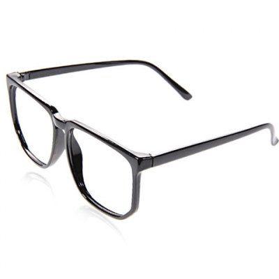 Hoy con el 23% de descuento. Llévalo por solo $5,300.Elegante marcos ópticos cuadrados plásticos refrescan la decoración del marco de la lente de la muchacha del muchacho (Negro).