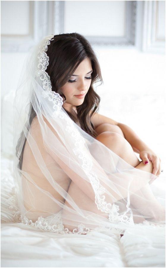 Boudoir Bridal boudoir veil, studio natural light Southern Utah, Saint George St.George photographer
