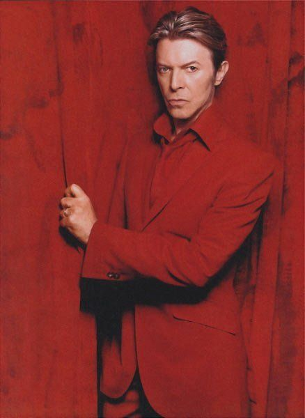 David Bowie. There is just something about him that is so interesting.