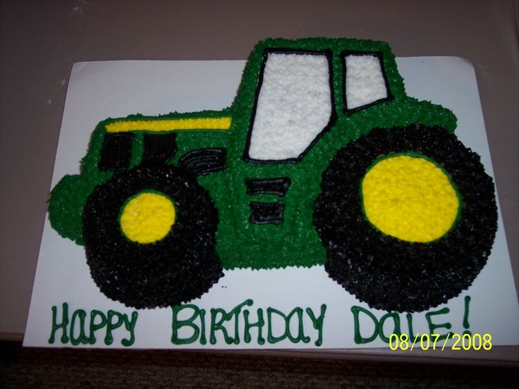 john deere birthday cakes | This page was last updated: March 26, 2010