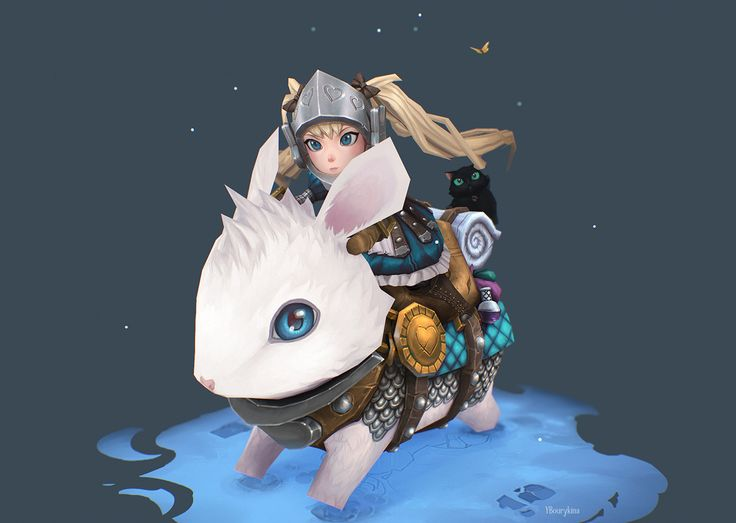 ArtStation - Adventures of Alice and Bun Bun the White, Yekaterina Bourykina