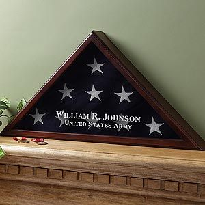 personalized Flag box