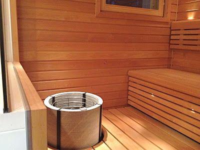 Tulikivi Naava sauna heater in Elämäni huoneet blog