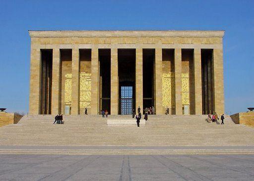 Anitkabir (Ataturk's Mausoleum) Ankora, Turkey