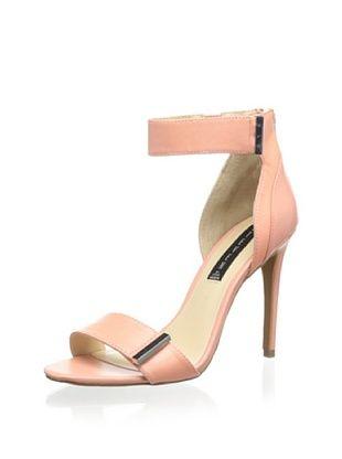 50% OFF STEVEN by Steve Madden Women's Lizete Ankle Strap Sandal (Peach)