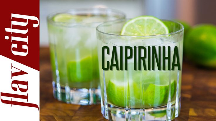 How To Make Caipirinha - Brazilian Cocktail Recipe