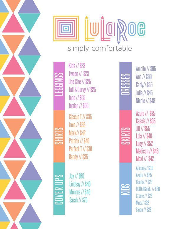 I've had a lot of questions about LulaRoe clothing prices! Even though my blog is lighter on the fashion side and heavier on the hair side...