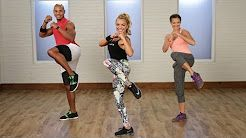kickboxing workout for women - YouTube