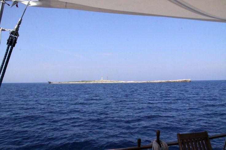 Isola di Pianosa: panorama