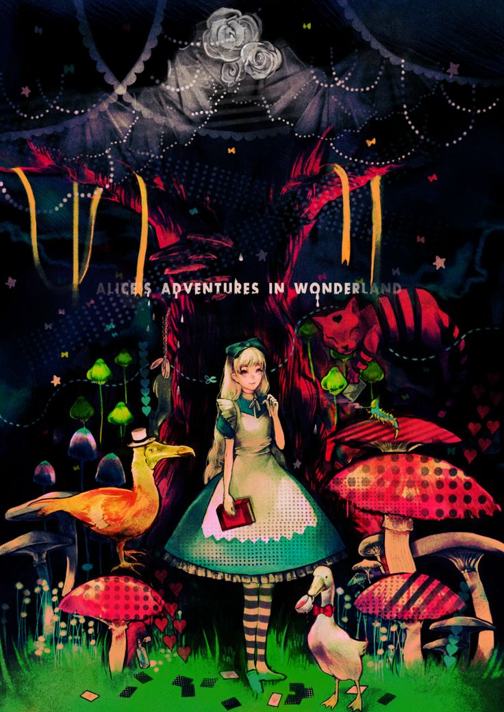 9 Best Images About Alice S Adventures In Wonderland 1865