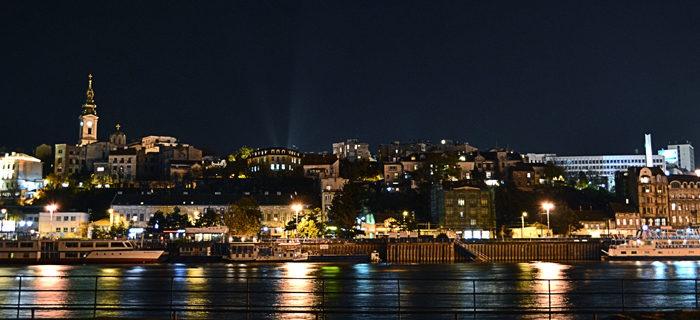 Lovely photo of #Belgrade at night