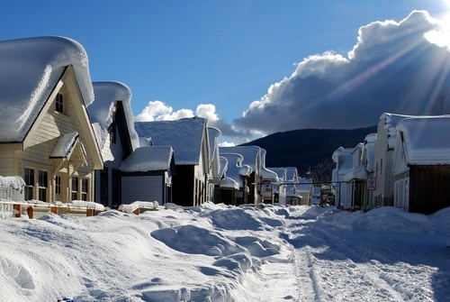 Barkerville in February