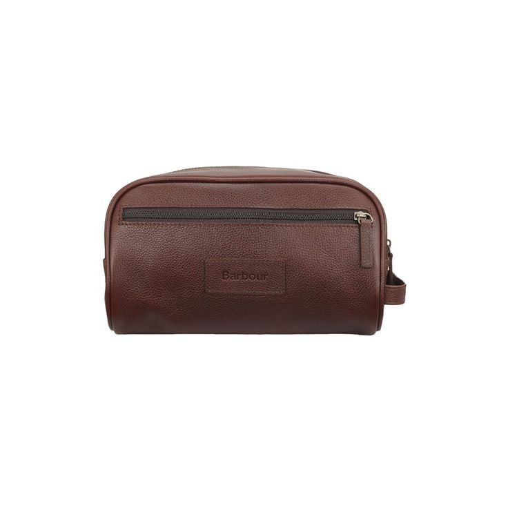 Barbour Leather Wash Bag - Bags from Country House Outdoo...