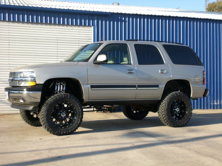 Chevy Gmc 6 8 Inch Lift Kit Tahoe Yukon Avalanche Lifted Tahoe