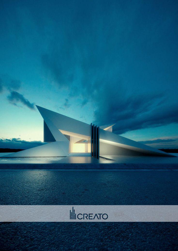 Our team approach Futuristic architecture, Concept
