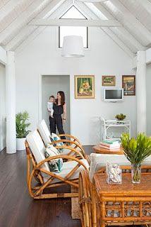 island style - Escape to Paradise cushions! - rattan furniture