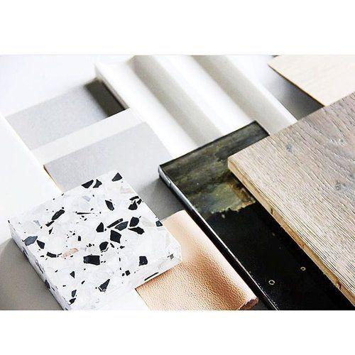 Just give me allll the textures ⚪️▪️#terrazzodesign || Alexandria Mavis Blog