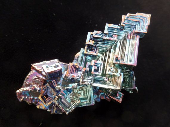 Bismuth Crystals (lab grown) in France $60.00 Visit the website at http://www.nomadicspiritjewelry.com/ to view our selection of #gemstones #minerals #crystals #jewelry #fossils #beads #Bismuth