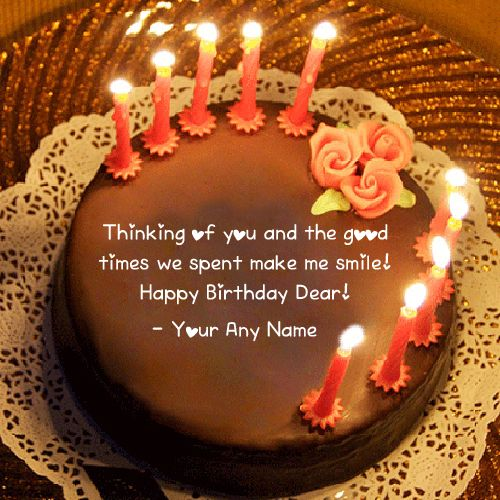 Friend Name Birthday Wishes Quotes Cake Pictures Beautiful Candles Photo Edit BF Or GF Write Image Sent